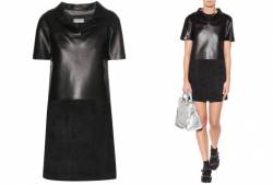balenciaga-leather-dress balenciaga balenciaga