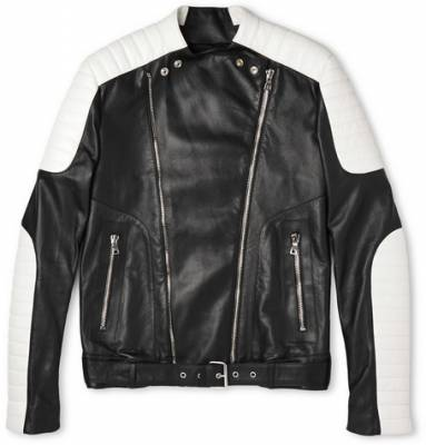 balmain leather jacket  balmain balmain