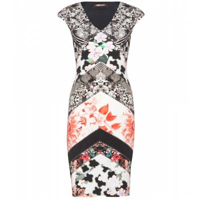P00097086-Printed-stretch-dress-STANDARD roberto-cavalli cavalli