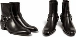 saint laurent mens boots black leather 2015 mens collection biker boots ankle saint-laurent donna,uomo,borse , accessori , scarpe, abbigliamento,stock,ingrosso,saint laurent